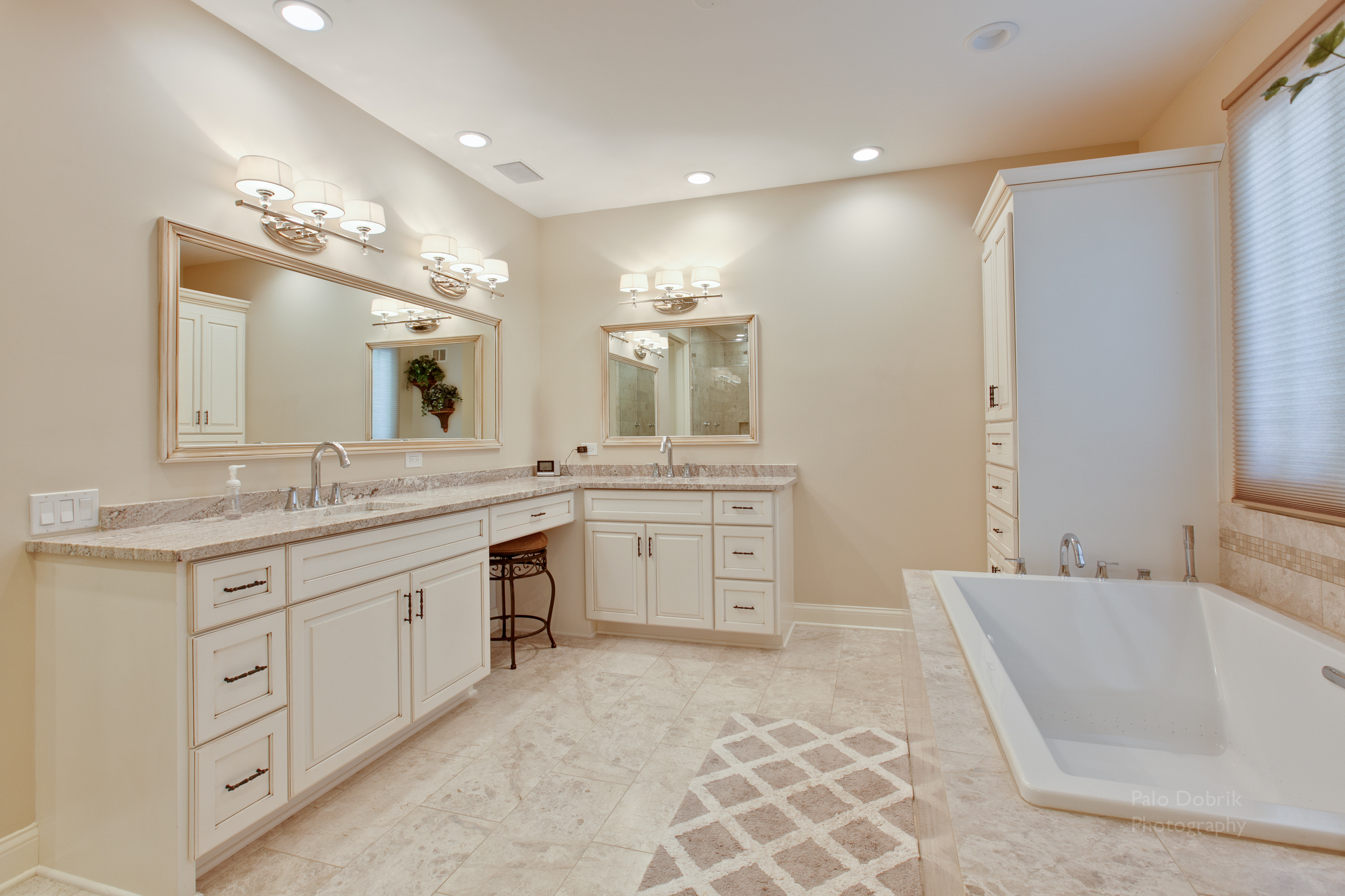 Custom Master Bathrooms elegant custom master bathroom – green pro home